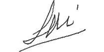 Leopoldo Mila. Firma