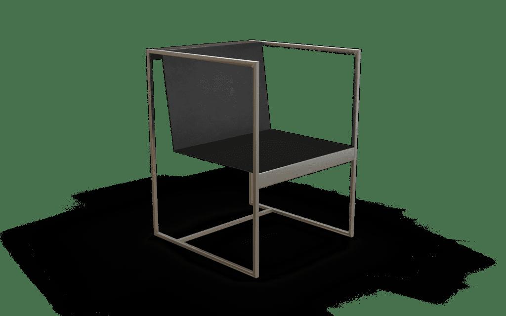 silla de diseño moderno