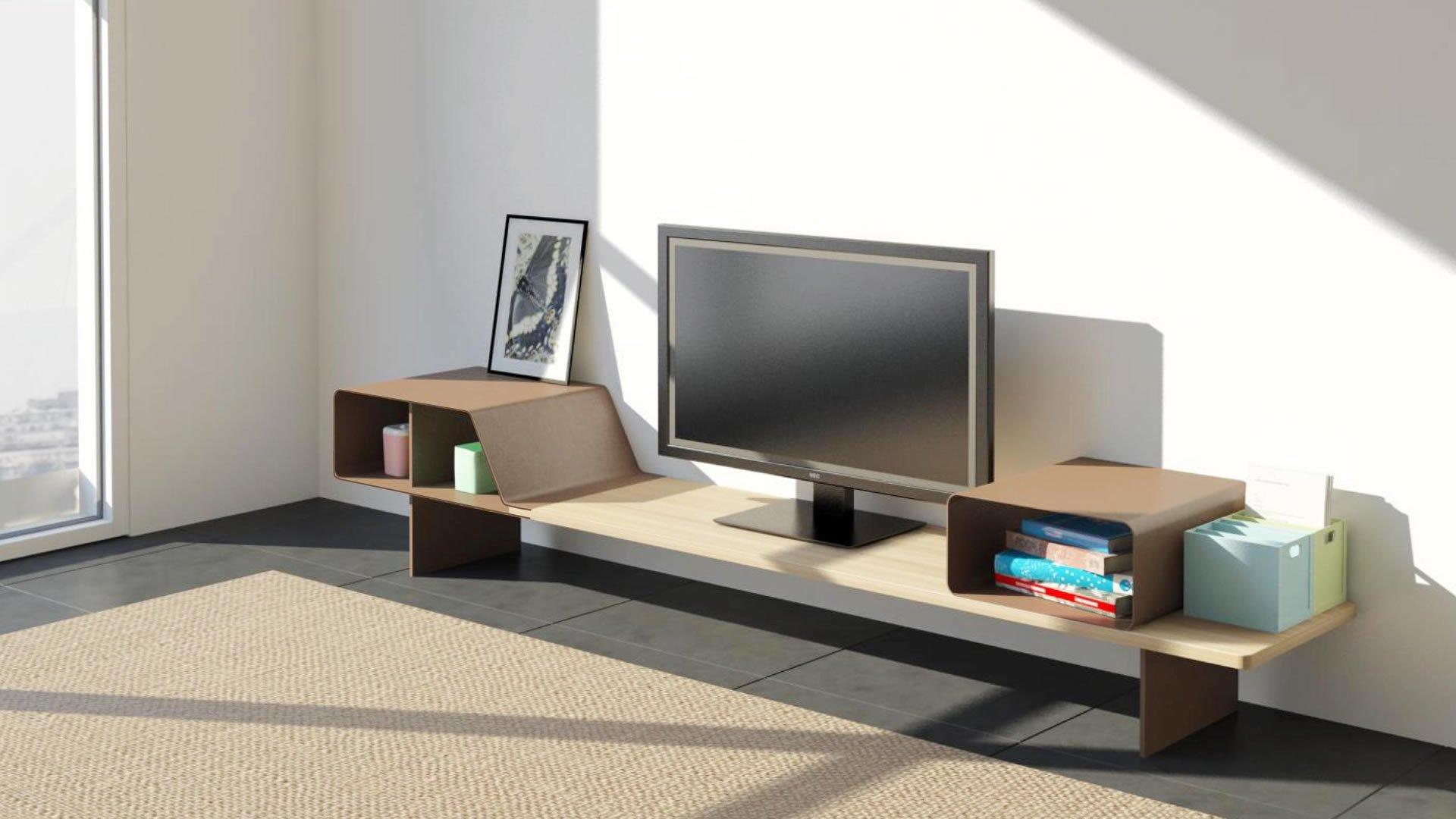 Mueble AGV en salon