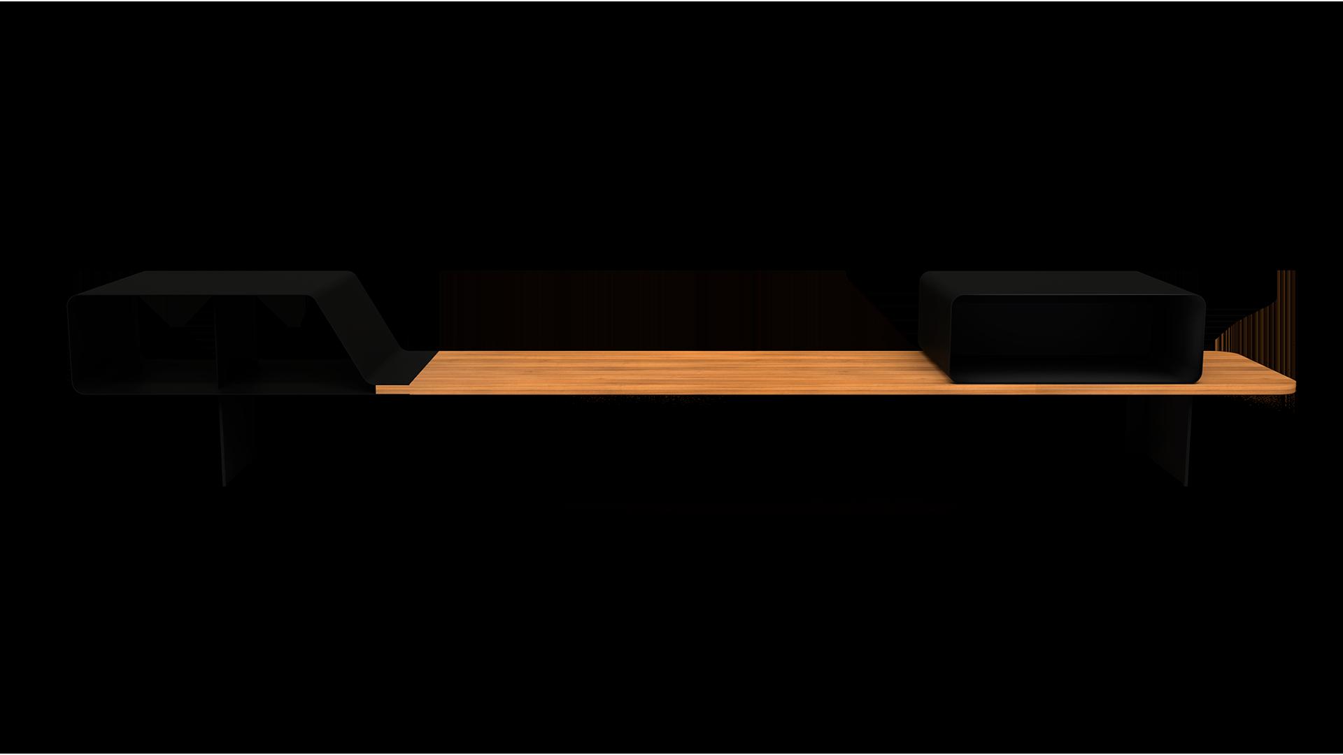 Mueble AGV vista frontal