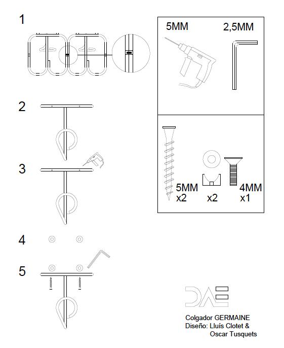 Instrucciones montaje GERMAINE2